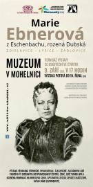 Výstava - Marie Ebnerová z Eschenbachu, rozená Dubská