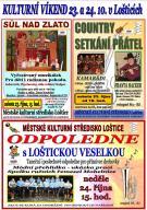 Kulturní víkend 23. a 24.10.2021